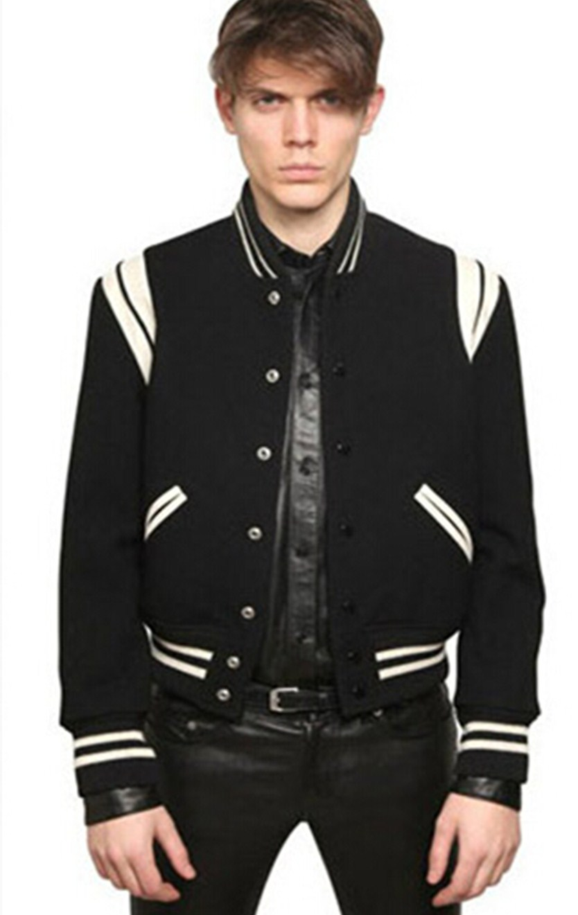 Popular Mens Leather Baseball Jackets-Buy Cheap Mens Leather ...