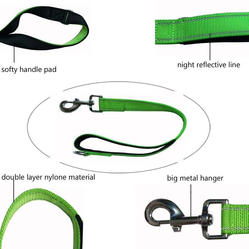 [TAILUP] Short Dog Leash Liny z uchwytem Walking 50cm Dog Training - Produkty dla zwierząt domowych - Zdjęcie 3