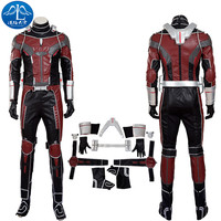 ManLuYunXiao Captain America Civil War Cosplay Costume Ant Man Cosplay Costume Men's Jumpsuit Custom Made Free Shipping