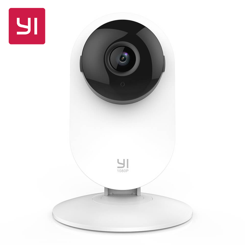 YI 1080p Home Camera Cutting-edge Design Night Vision Wireless IP Security Surveillance System Baby Crying Detection (US/EU)