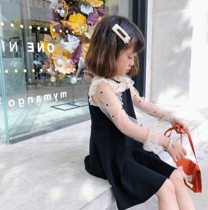 df65ad12e45c764 Mihkalev/весенне-летние платья для девочек 2019 г. Детские платья для  девочек, платье-пачка с длинными рукавами детская праздничная одежда в  стиле.