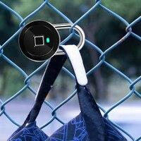 U Shape Lock Home Fingerprint Padlock Bluetooth Smart Electric Door Lock Locker Rechargeable Battery Anti Theft Security Bicycle