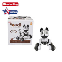 Ship From USA Wonderplay Smart Robot Dog Electronic Pet Remote Control Kids Toy Intelligent Dog Robot Toy
