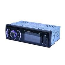 Черный Поддержка TF автомобиль Bluetooth MP3 Авто аудио автомобиля в тире стерео радио Премиум головного устройства