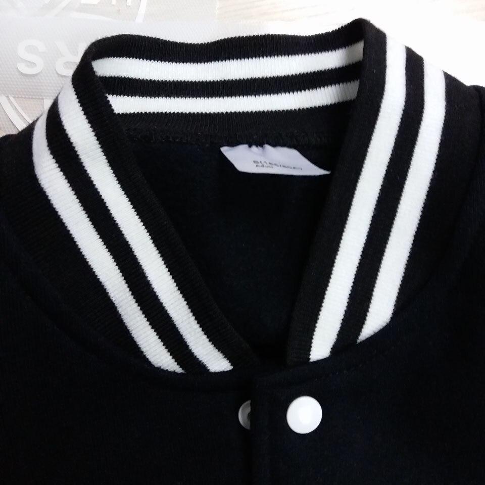 BTS 2017 chaqueta de béisbol de invierno para hombre sudadera para la  universidad ropa deportiva chaquetas de lana Casual Slim Fit Chaqueta Hombre  sólido ... fb7d68f8f66