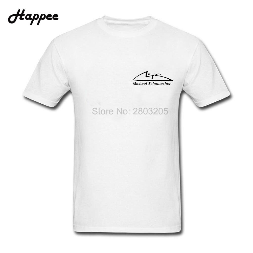 Black t shirt michaels - Big Size New Coming Men T Shirts Michael Schumacher Logo Tee Tops Adult Clothing 100