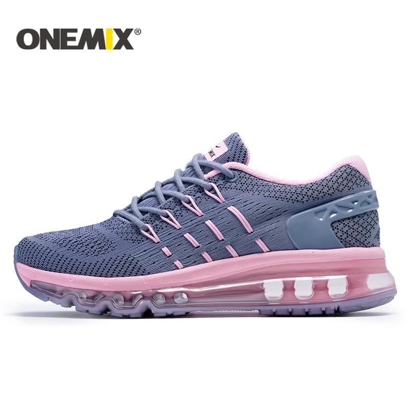 Onemix 2017 nouvelles femmes chaussures de course respirant sport chaussures pour femmes femelle de sport en plein air sneakers zapatos de hombre EUR36-40