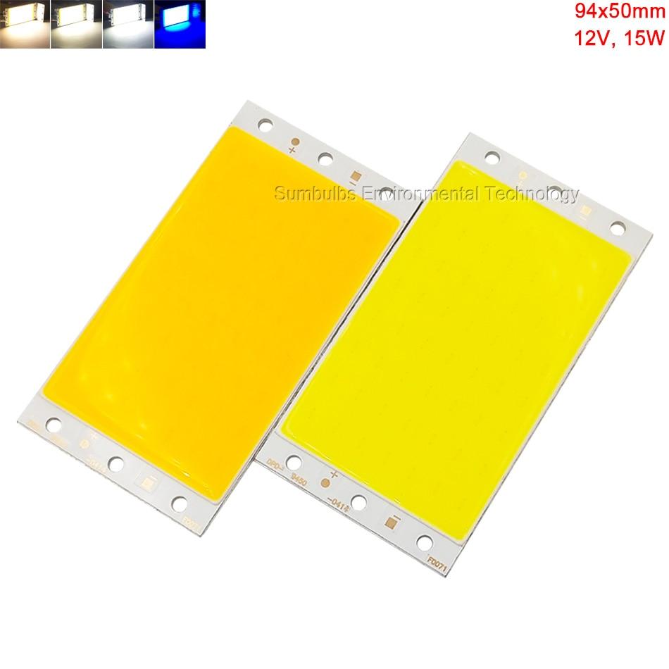 Sumbulbs 15W LED 12V COB Light