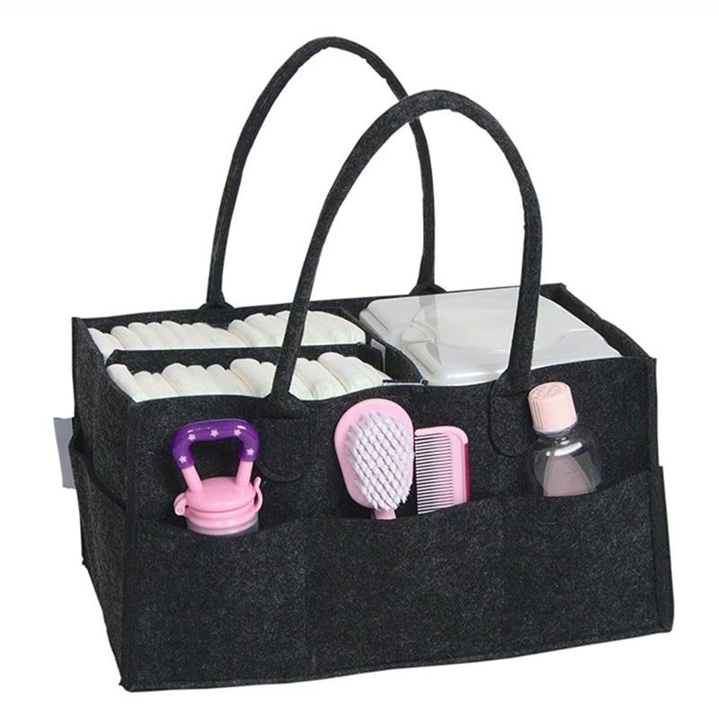 Multifunctional Baby Diaper Bag Large Capacity Storage Maternity Bags Bottle Storage Baby Nappy Changing Organizer Handbag