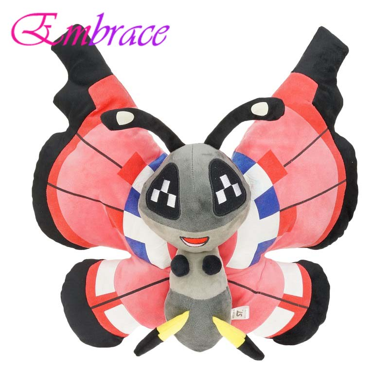stuffed animals plush butterfly soft toy plush pillow stuffed toys girlfriend plush animals kawaii toys for children 40cm high
