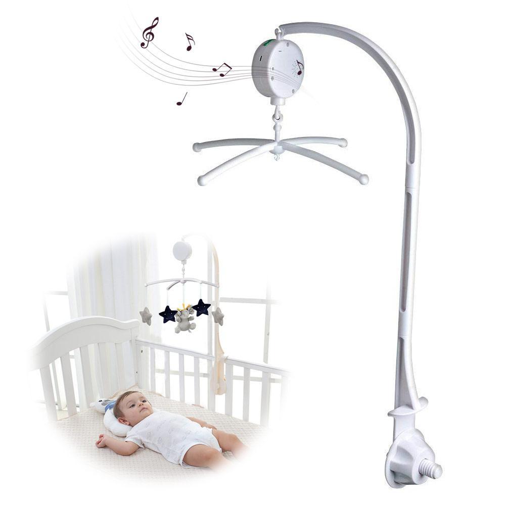 Lit bébé cloche support suspension cloche croix 66 cm musique lit cloche hochets support de jouet support