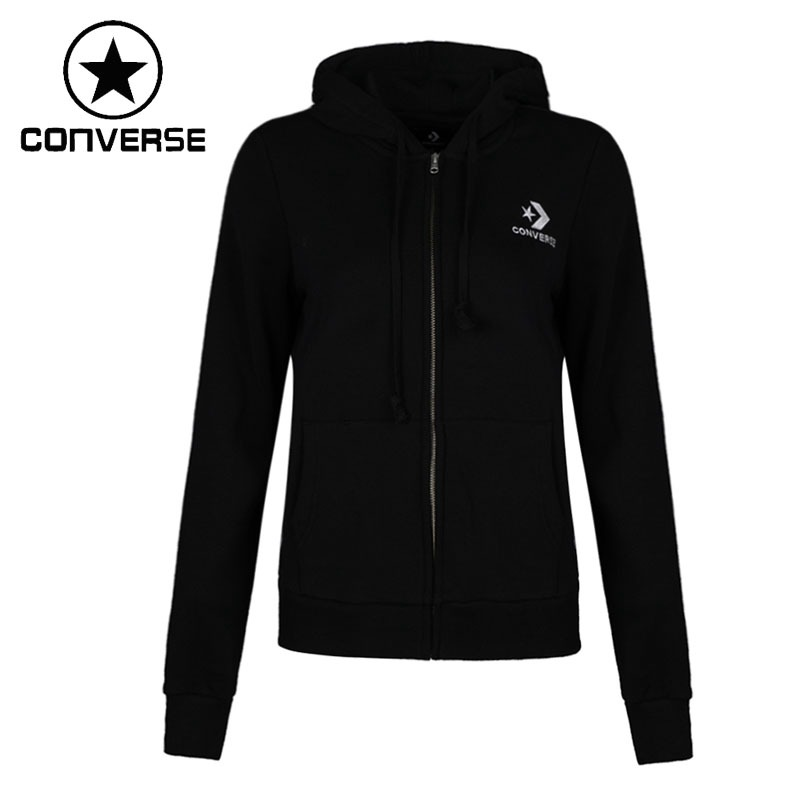 Original New Arrival 2018 Converse Womens Jacket Hooded Sportswear Original New Arrival 2018 Converse Womens Jacket Hooded Sportswear
