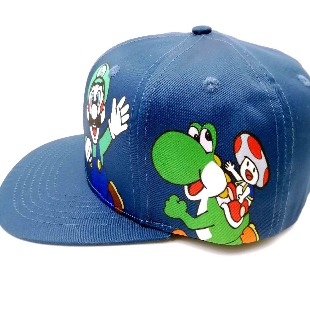 e159f689abd Super Mario Bros Hats Mario Luigi Yoshi Snapback Baseball Caps Cartoon  Casual Summer Sun Hats Couple Hip Hop Caps-in Baseball Caps from Apparel  Accessories ...
