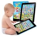 2016 venta caliente Ruso Aprendizaje Automático Niños Ordenador Tableta Máquina de Aprendizaje Educativo Juguete de Regalo Para El Cabrito cómodo de usar