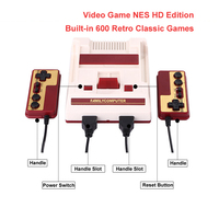 Mini HDMI AV Out Retro Classic Video Game NES HD Edition Handle Video Game Console Built