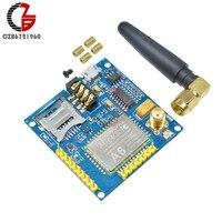 A6 GPRS GSM Pro moduł szeregowy Dual Band Developemnt pokładzie TTL RS232 UART z anteną uchwyt na karty SIM wymienić SIM900 w Złącza od Lampy i oświetlenie na