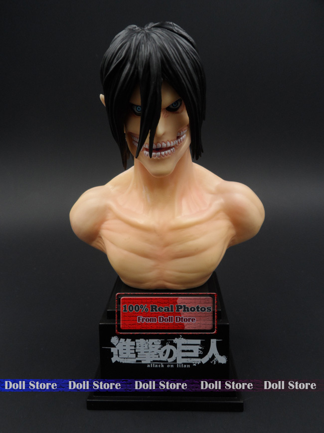High quality original SegaPrice PVC 20cm attack on titan Eren figure Japanese anime figure toys Action