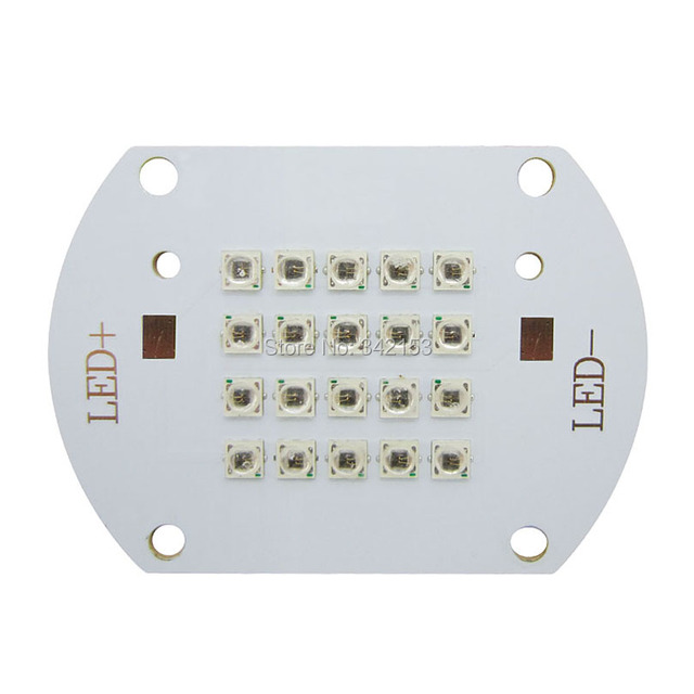 2014 New 20W IR Infrared Led 850nm High Power Led Chips Moudle Light DC 15-17V 700mA For CCTV Camera Free Shipping
