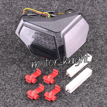 Smoke LED LAMP Tail Light Taillight Turn Signals for DUCATI 1198/R/CORSE 09-10 848 08-10 1098/R/S 07-10