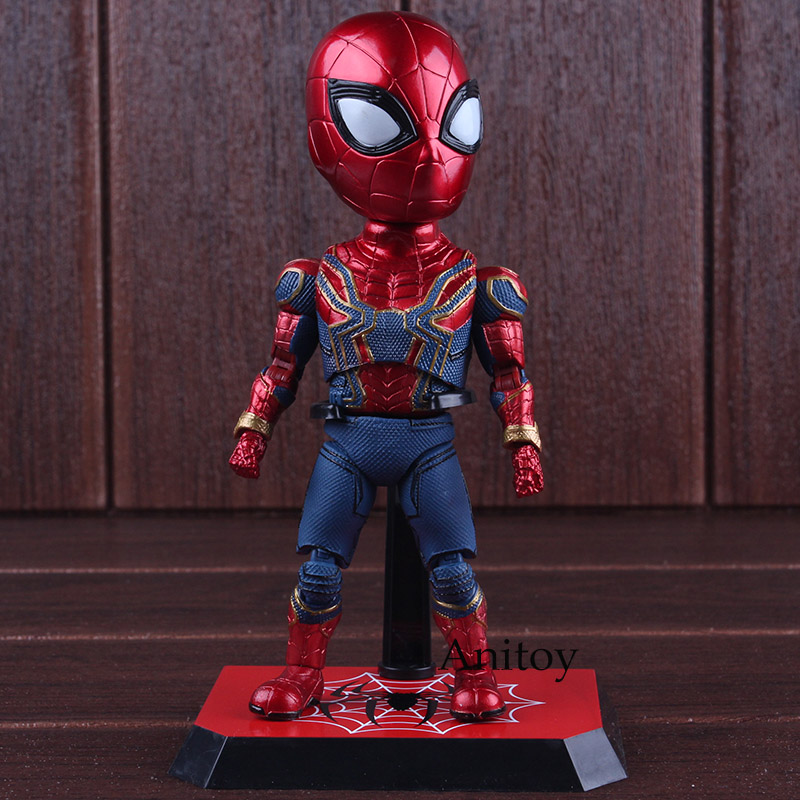 Spider-man The Avengers 3 Infinity War PVC Action Figures Figurine Spiderman Collectible Model Toys for Boys 17cm crazy toys super heros spider man the amazing spiderman pvc action figures collectible model kids toys doll 16cm