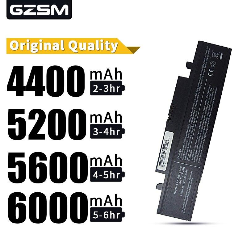 HSW 5200MAH Battery For SAMSUNG X318 X320 X418 X420 X520 Q328 Q330 N210 N218 N220 NB30 Plus AA-PB1VC6B AA-PL1VC6B Bateria Akku