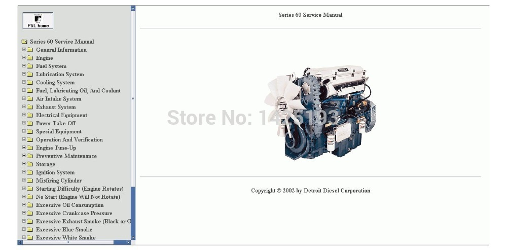 US 38 0 24 OFF Detroit Diesel 60 Series Service Manual In Software From Automobiles Motorcycles On Alibaba Group