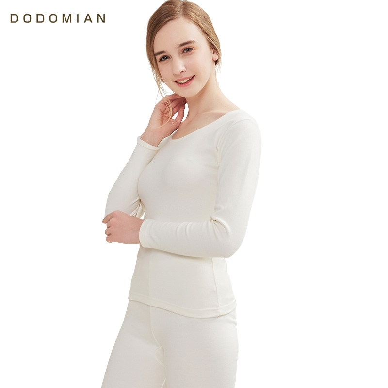 Brand Thermal Underwear Women Winter Casual Warm Anti-microbial Stretch Thermo Underwear Sets Female Warm Long Johns Top Pants