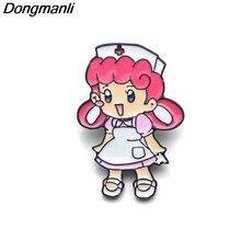 P3585 Dongmanli сестра Джой металлические значки с логотипом и броши для женщин модные штырь отворотом рюкзак сумки значок подарки