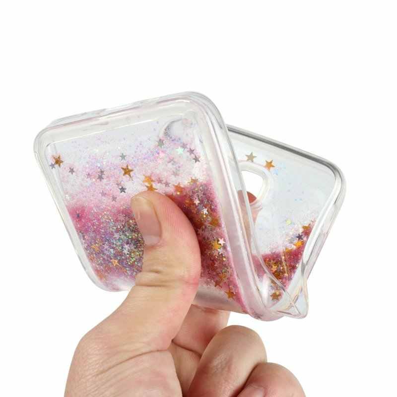 ... Liquid Case For Samsung Galaxy J7 Prime J7Prime Luxury Glitter Soft  Silicone Back Cover TPU Gel ... 4bf98869fb62