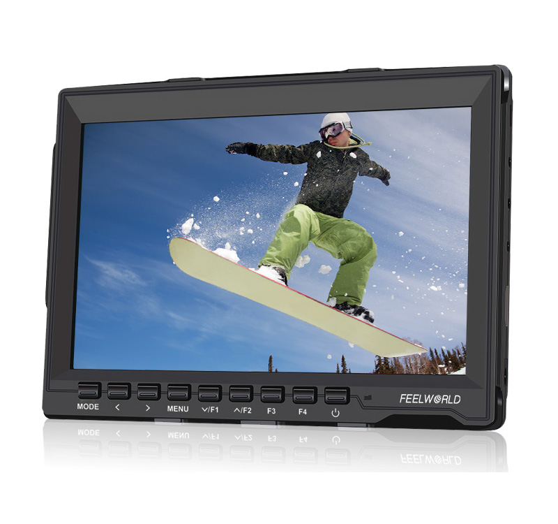 New FW759 Kit 7 1280x800 HD IPS Panel LCD DSLR Field Monitor HDMI Input for BMPCC + HDMI Cable + Car Charger