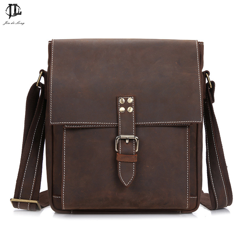 Genuine leather men bag small shoulder bags men messenger bags crossbody bag mens leather handbag Hot sale 2016 free shipping free shipping dbaihuk golf clothing bags shoes bag double shoulder men s golf apparel bag