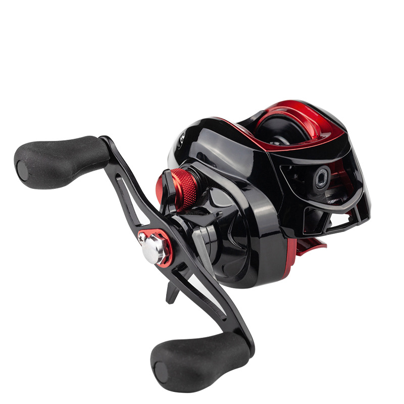 Deshion 17+1BB High Speed Black Baitcasting Fishing Reel Affordable Fishing Baitcasting Reel Left Hand / Right Hand 4.5KG Drag-in Fishing Reels from Sports & Entertainment