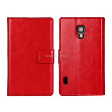 L7 II High Quality Crazy Horse Leather For LG Optimus L7 II P710 P713 Pouch Wallet Cover,For LG L7 II Flip Leather Case  landicemodel l7