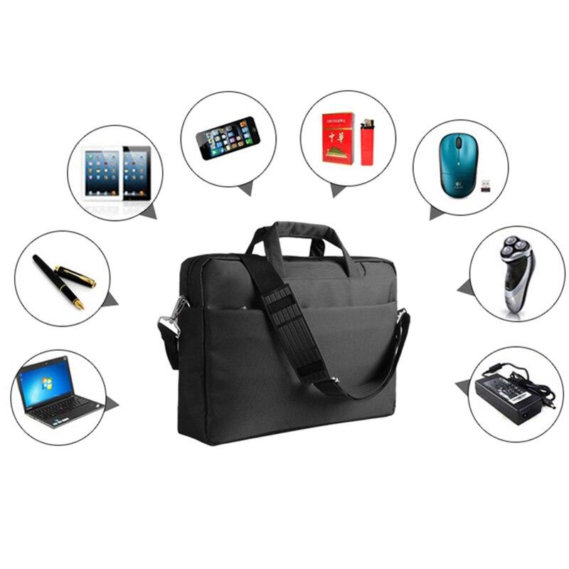 35febc4e36509 محمول 11 12 14 15 بوصة النايلون airbag الكتف أكياس رسول النساء الرجال حقيبة  كمبيوتر محمول حقيبة للماك بوك آسوس أيسر