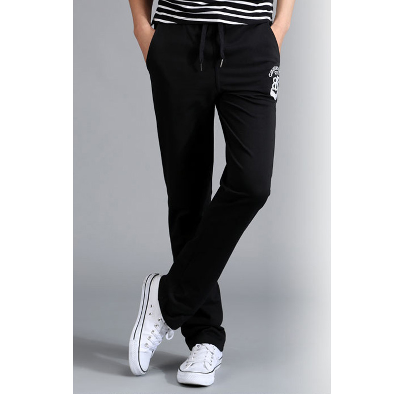 65c975f9 2016 Hot New Fashion Mens Track Pants Skinny Thin Harem Sweatpants  Tracksuit Bottoms Pants Trousers Casual Pants-in Harem Pants from Men's  Clothing on ...