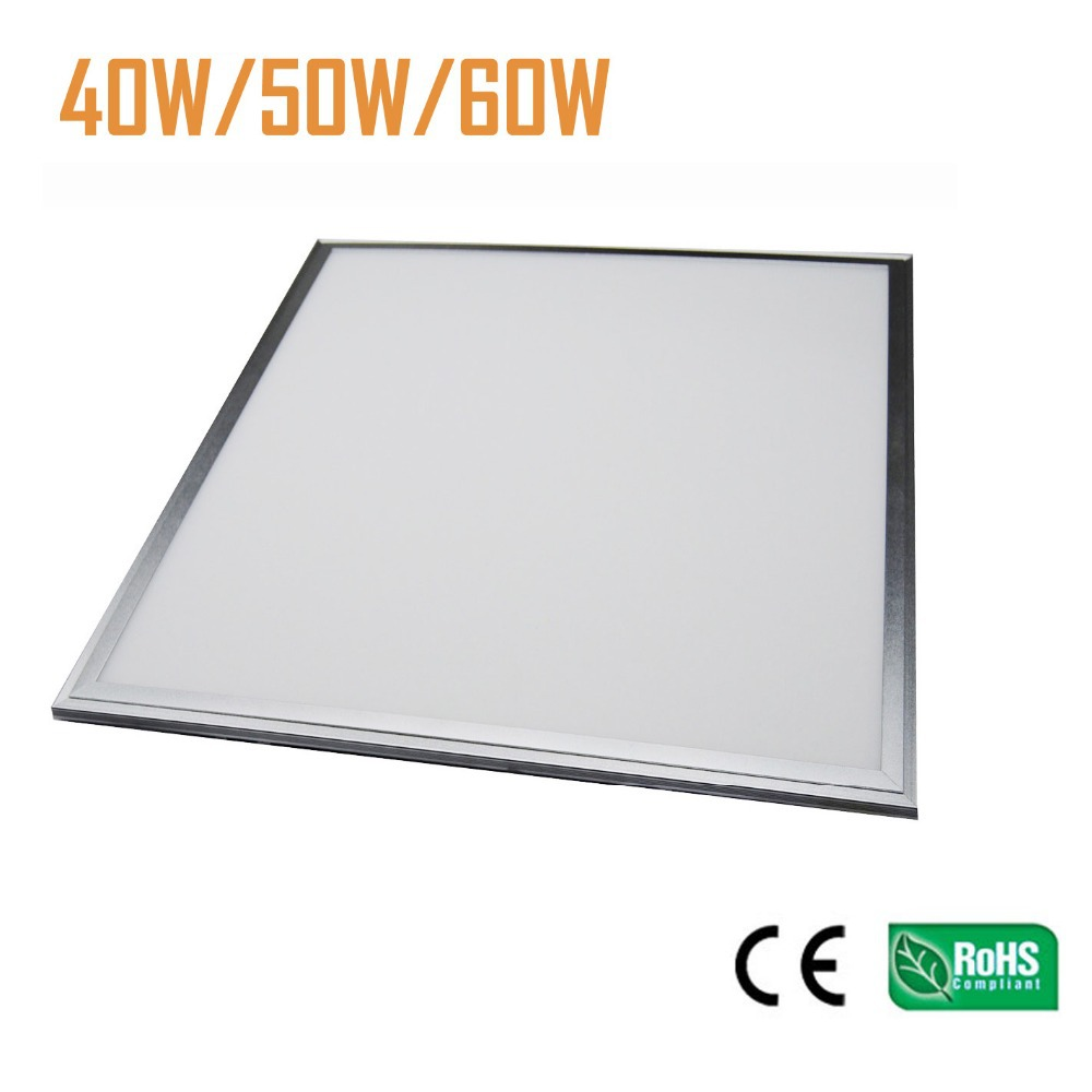 LED Panel Light 600x600mm 595X595mm LED Ceiling Panel Light 60W 5000LM super bright best quality 2 years warratny free shipping free shipping waterproof ip65 led panel 600x600mm high bright led chips with led driver ww nw cw color temperature aluminum pmma