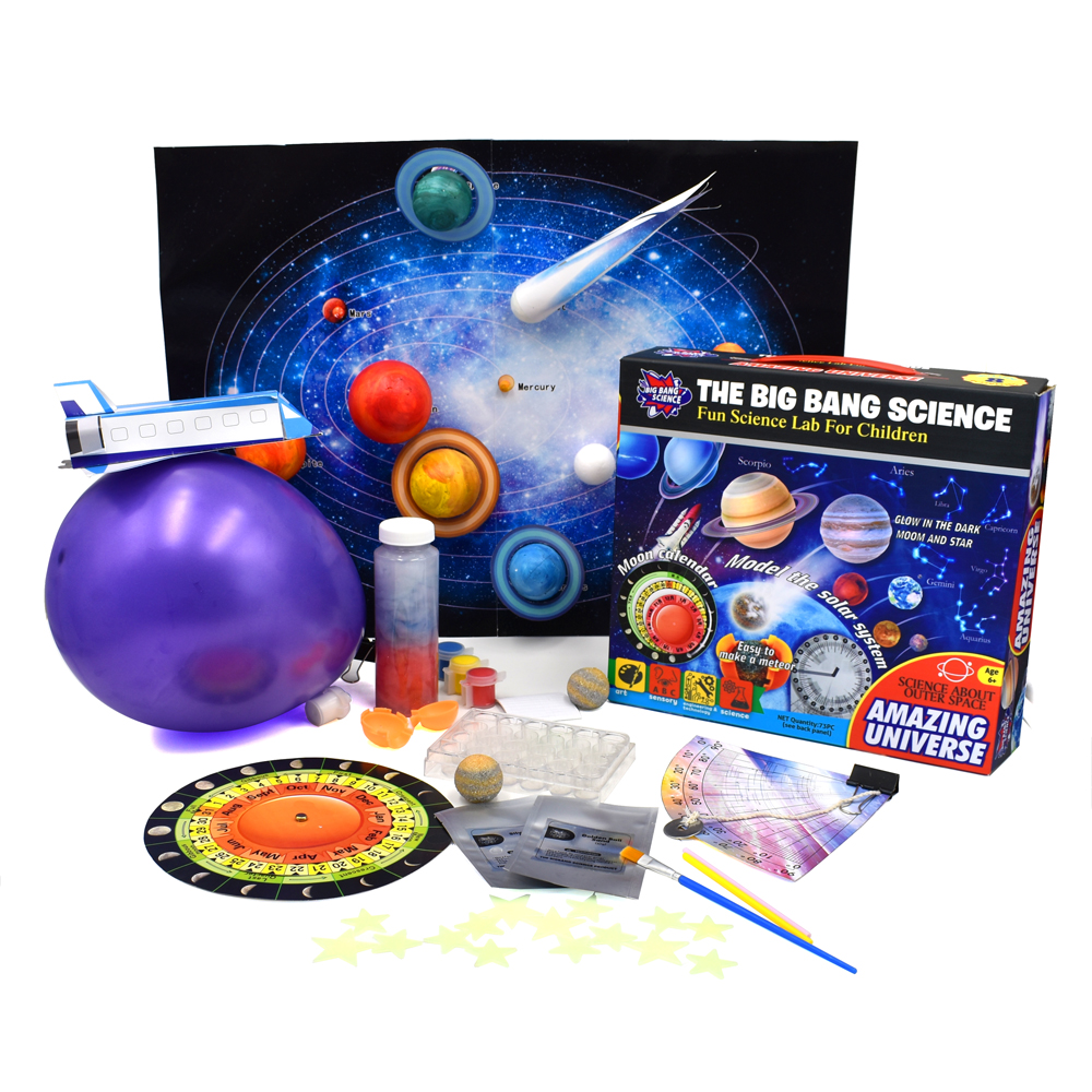 66Pcs Students Class Table Test Astronomy and Physical Experiment Toys for Children Early Learning Educational Science Hot Sale