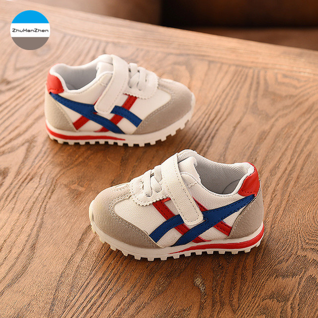 2019 0 to 3 years old boys and girls sports shoes fashion baby casual shoes newborn soft first walk sneakers non-slip toddler