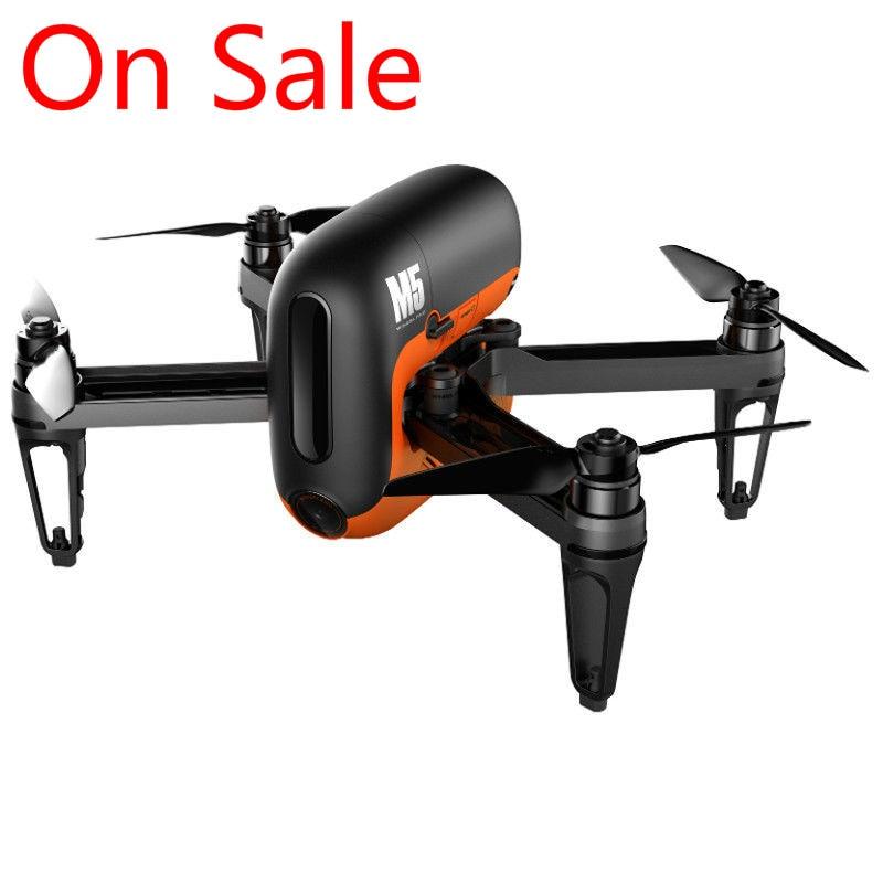 1 шт Wingsland M5 бесщеточный gps WI FI FPV с 720 P Камера Радиоуправляемый Дрон Quadcopter RTF Оригинальный Новый распродажа