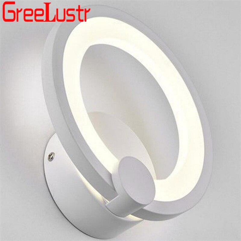 branco anel loft cabeceira luminaria banheiro espelho luz ac85 265v 04