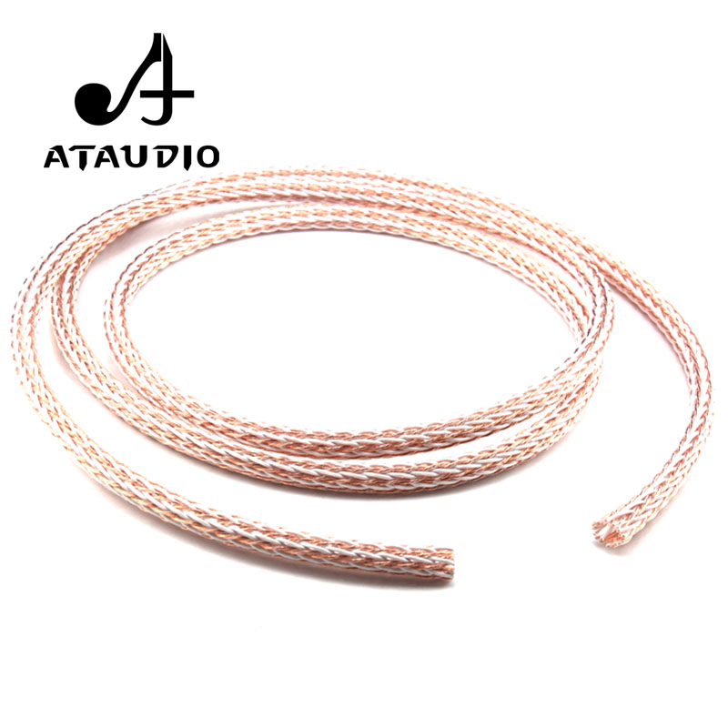 Hifivv audio hifi cable Single crystal copper wire signal wire horn ...
