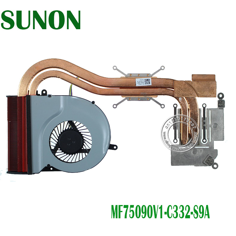 New Original Asus N551V N551VW Cpu Cooling Fan SUNON MF75090V1-C332-S9A