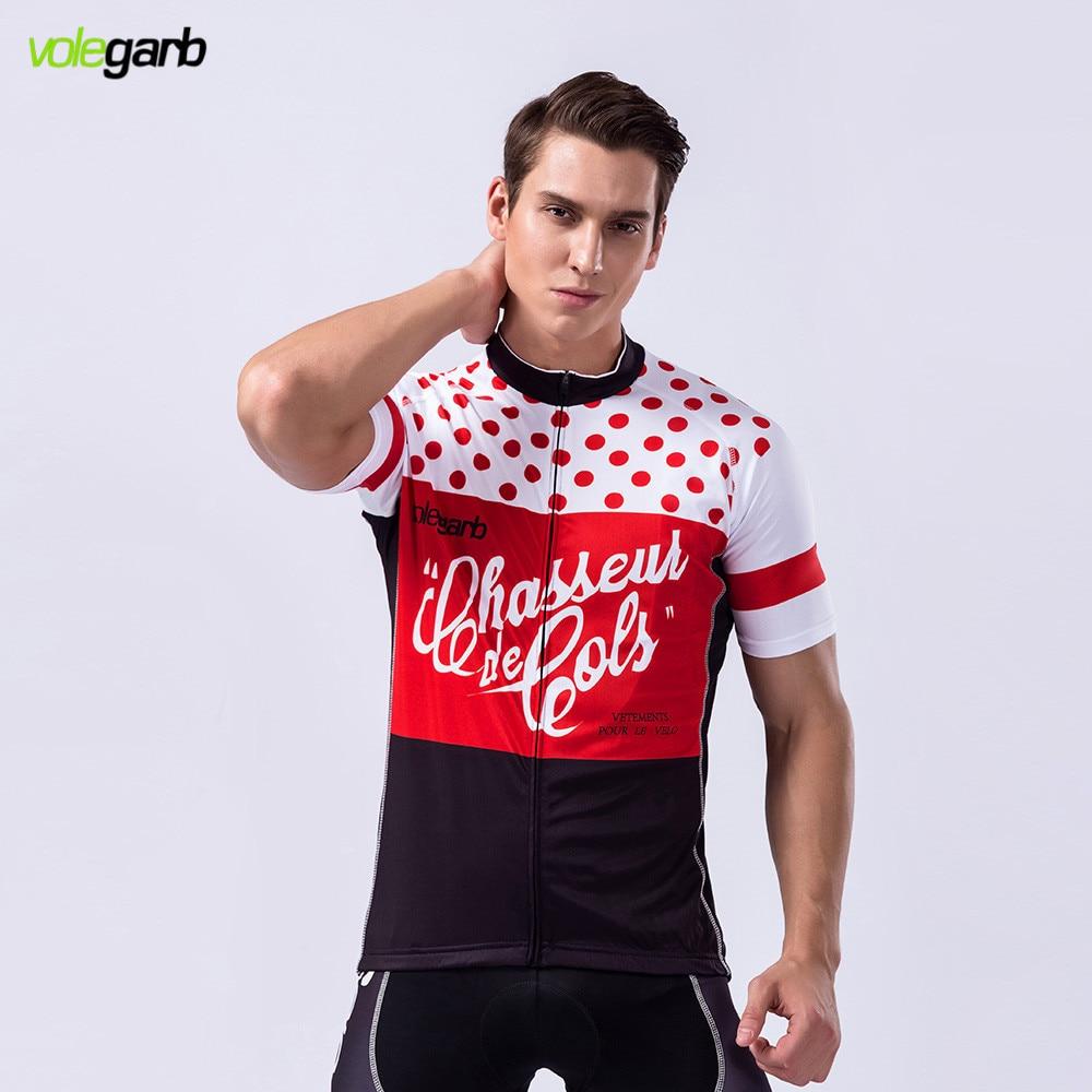 Prix pour 2017 Volegarb Pro Cycling Team Vêtements À Séchage Rapide À Manches Courtes Cyclisme Maillot Ropa Ciclismo Gel Pad Maillot Ciclismo VTT Jersey