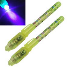 SOSW-2 Invisible Security UV Marker Pen Gadget Ultraviolet LED Note Bank Money Fake