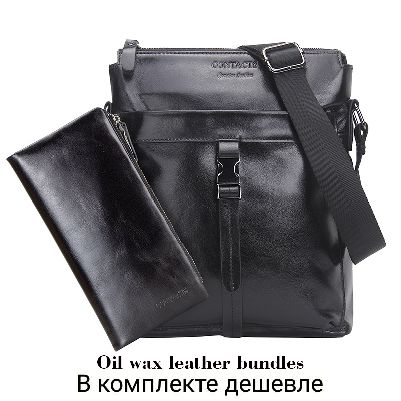 bf92f27022 Genuine Leather Men Bags Hot Sale Male Messenger Bag Man Fashion | eBay