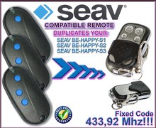 SEAV TXS1,TXS2,TXS3,TXS4,SEAV TXS6,BE HAPPY S1,BE S3  remote controls duplicator