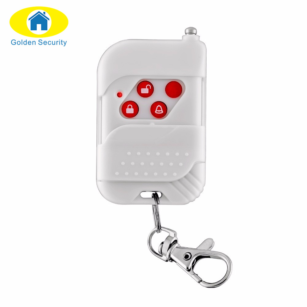 Golden Security High quality 433Mhz keychain Remote Control for  IPC05  Wifi IP camera alarm systems hpu6900pic 433 ib 2u ipc card 02027 12030 80 100% test good quality