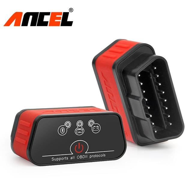 Ancel Automotive Scanner OBD2 ELM327 V1.5 Bluetooth Adapter icar2 Car Diagnostic Scanner OBD 2 Auto Code Reader Diagnosis Tool