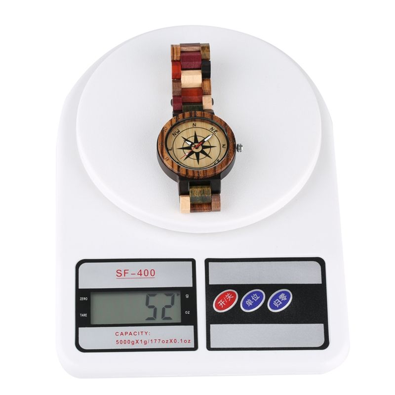 Creative Compass Dial Wood Watch Men Bamboo Watch Male Clocks Retro Full Wooden Wrist Quartz Watch Top Luxury Mens Watches 2019 2020 2022 2023 (14)