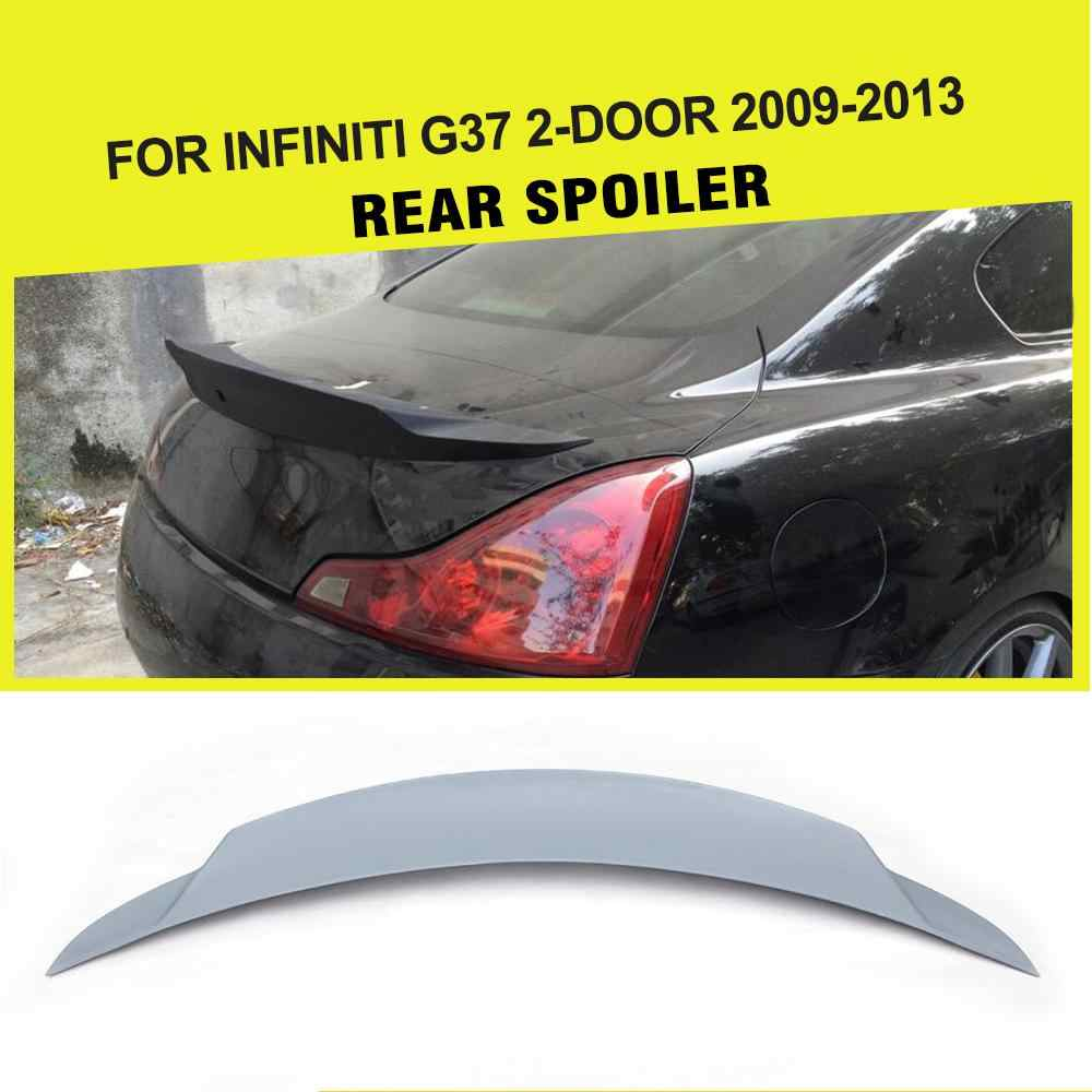 FRP Auro Car Rear Trunk Spoiler Wing for Infiniti G37 Coupe BASE COUPE JOURNEY COUPE 2-Door 2009 - 2013